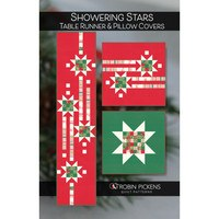 Showering Stars Table Runner and Pillows Pattern