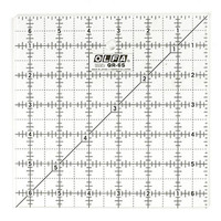 "Frosted Square Ruler (6.5""x6.5""), Olfa"