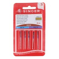 Leather Needles Assorted (5pk), Singer #S2032