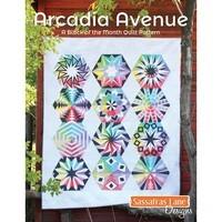 Sassafras Lane Designs, Arcadia Avenue Quilt Pattern