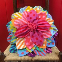 Petal Pop Zinnia Pillow Pattern