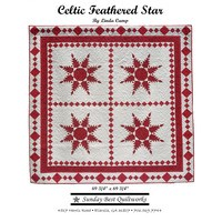 Celtic Feathered Star Quilt Pattern