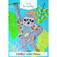 Sew Quirky, Chillin With Chino Wall Hanging Pattern