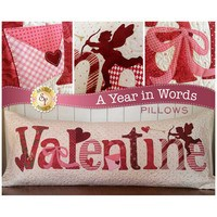 A Year in Words, February, Valentine Pillow Pattern