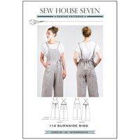 Burnside Bibs Pattern, Sew House Seven