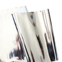 "Mirror Shine Vinyl (18""x52"") - Silver"