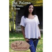 Paloma Top, Tunic and Dress Pattern, Sew Liberated