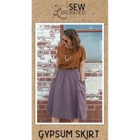 Gypsum Skirt Pattern, Sew Liberated