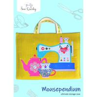 Sew Quirky, Mousependium Bag Pattern