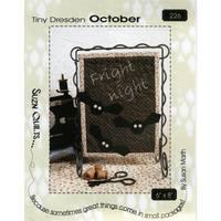 Tiny Dresden Pattern, October, Susan Marth