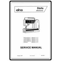 Service Manual, Elna Stella Series