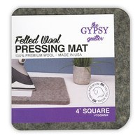 Felted Wool Pressing Mat - 4in x 4in