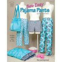Sew Easy Pajama Pants Pattern