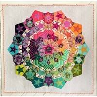 Tula Nova Quilt Pattern with Complete Paper Piece Pack