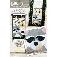 Monthly Table Topper and Wall Hanging Pattern, June Honey Bandit