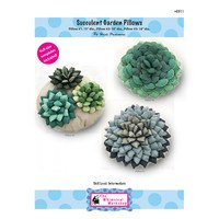 Succulent Garden Pillows Pattern