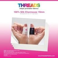 "Printable Silk, 8 1/2"" x 11"" Fabric Sheets, 30pk"