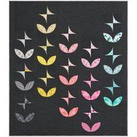 Orange Peels and Pinwheels Quilt Pattern