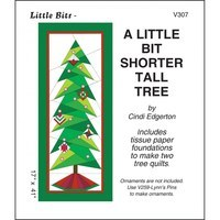 A Little Bit Shorter Tall Tree, Christmas Tree Pattern