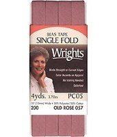 Bias Tape, Single Fold, Wrights #W200-