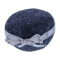 Wooly Felted Wonders Pincushion - Dark Gray