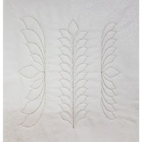 Westalee Feather Leaf Template Set
