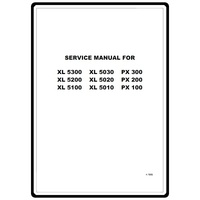 Service Manual, Brother XL5010