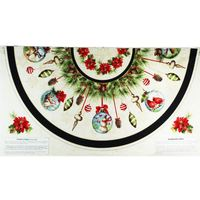 "Wilmington, Woodland Holiday 30""x60"" Fabric Panel"