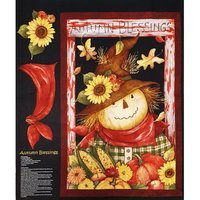 Autumn Blessing Fabric Panel