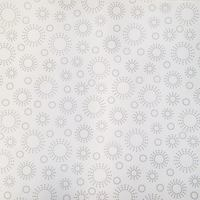 "108"" Quilt Backing Fabric, Gray on White"
