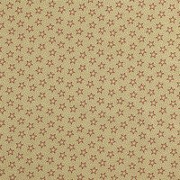 "108"" Quilt Backing, Antique Stars and Dots Fabric, Red"