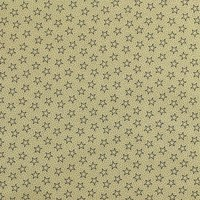 "108"" Quilt Backing, Antique Stars and Dots Fabric, Navy"
