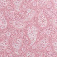"108"" Quilt Backing, Floral Paisley, Pink"