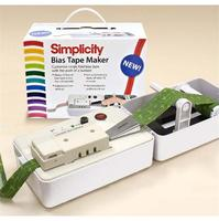 Bias Tape Maker, Simplicity #881925
