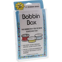 Bobbin Box, Holds 21 Bobbins