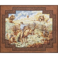 Rodeo Fabric Panel