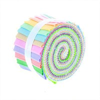 Supreme Solids Light Fabric Roll, Gallery Rolls