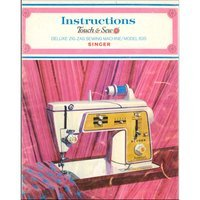 Instruction Manual, Singer 635 Touch & Sew