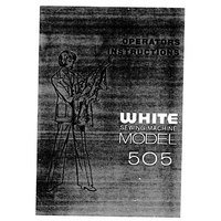 Instruction Manual, White 505