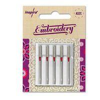 5pk Inspira Embroidery Needles (H-E)