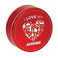 Thread Tin - 30 Spools - Janome