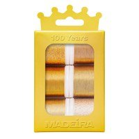 Madeira Anniversary Crown Thread Box (6pk) - Metallic