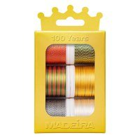 Madeira Anniversary Crown Thread Box (6pk) - Rayon Variegated