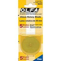 Olfa 45MM Replacement Blades 5pk