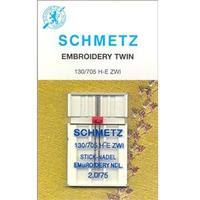 Embroidery Twin Needle, Schmetz (1pk)