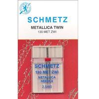 Metallic Twin Needle, Schmetz (1pk)