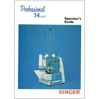 Instruction Manual, Singer 14U12