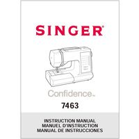 Instruction Manual, Singer 7463 Confidence