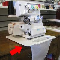 Serger Scrap Catcher and Pad #STC