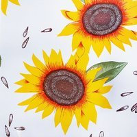 "47"" Sunflower Oilcloth Fabric"